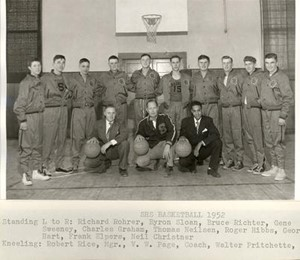 1952 Basketball Team Picture